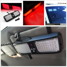 86 LED Light Bar Lamp Emergency Warning Strobe Flashing-RED For Car Truck SUV
