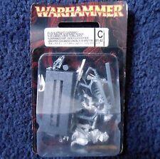 1997 muertos vivientes Wight abanderado en esqueleto corcel Warhammer army ciudadela MIB