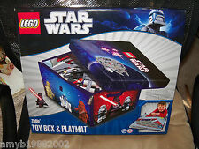 Lego Star Wars Zipbin Toy Box & Playmat NEW HTF LAST ONE