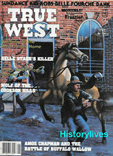 True West Jan.83 Sundance Kid Belle Fourche Bank Robbery Jesse James Nevada Lamb