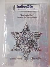 INDIGOBLU CLING MOUNTED RUBBER STAMP - TWINKLE STAR