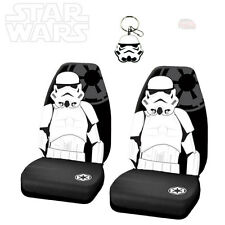 STAR WARS STORMTROOPER 3PC CAR SEAT COVER WITH KEYCHAIN SET FOR HONDA