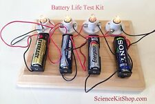Battery Life Test Science Project Kit
