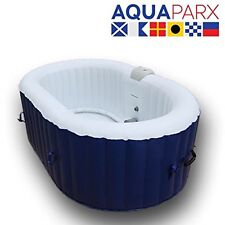 INFLATABLE OVAL 2 PERSON JACUZZI WHIRLPOOL SPA HOT TUB (550 Litre) AP550SPA