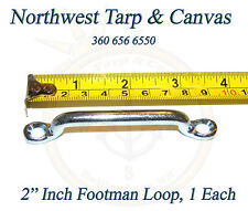 "Footman Loop, 2"" Inch, Jeep, Corvette, Boat Tie Down, 1 ea.- Ships from The USA!"