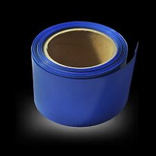 180mm Blue PVC Heat Shrink Tubing Tube Wrap For RC NiMH NiCd LiPO Battery Pack