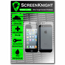 Screenknight Iphone 5 completa cuerpo Protector De Pantalla Invisible Grado Militar Escudo