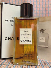 Vintage RARE 1950-60s !! Chanel No 5 Eau de Cologne 2 oz 60 ml - OLD FORMULA