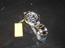 NEW NWT *INVICTA* Men's Pro Diver Stainless Steel/Black Watch 1003 Chronograph