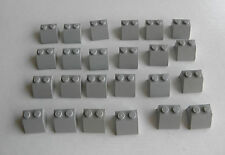 LEGO 24 x Bricks - 2 x 2 Slope 45 Degree Slant Roof Tile - Part 3039 Mixed Grey