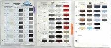 1989 TOYOTA DUPONT AND PPG COLOR PAINT CHIP CHARTS ALL MODELS