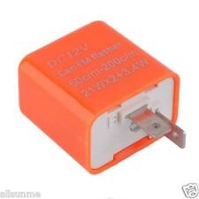 New 12V 42W 2 Pin Adjustable Frequency LED Flasher Relay Motorcycle Turn Signal