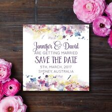 Save the Date Wedding Invitation, Watercolour, Baby Shower, Hen's night