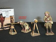 KING AND COUNTRY AL30 AUSTRALIAN LIGHT HORSE HELIOGRAPH TOY SOLDIER FIGURE SET