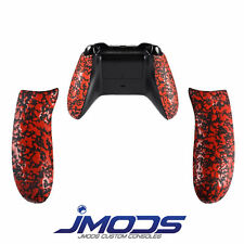 Xbox One Custom Controller Rubberised Grip Rear Handles (Red)