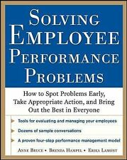 Solving Employee Performance Problems: How to Spot Problems Early, Tak-ExLibrary