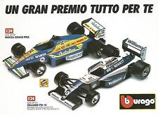 X0821 Williams FW 16 - Monza Grand Prix - Bburago - Pubblicità 1995 - Advertis.