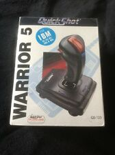 Vintage Still Sealed Warrior 5 Deluxe Analoge Joystick inBox IBM/XT/AT
