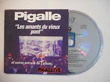 PIGALLE : LES AMANTS DU VIEUX PONT ♦ CD SINGLE PORT GRATUIT ♦