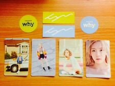 "K-POP SNSD GIRLS' GENERATION TAEYEON 2TH ALBUM ""WHY"" OFFICIAL SM SUM 10 STICKERS"