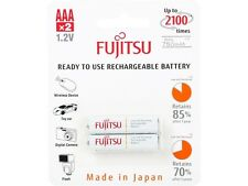 Fujitsu AAA  Ni-MH Pre-Charged Rechargeable Batteries 800mAh 2-Unit (Made in Jap