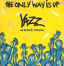 45 Giri  Yazz And The Plastic Population - The Only Way Is Up / Bad House Music