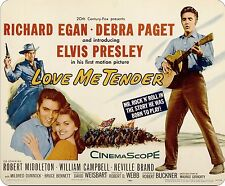 Elvis Presley Love Me Tender Movie Poster Mousemat