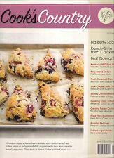 COOK'S COUNTRY September 2015 30 Minute Cards Scallops Couscous Paella Recipes