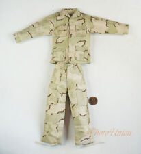 1/6 Figur US Army Desert USMC USAF Camo Combat Jacket Pants Suit Uniform DA280