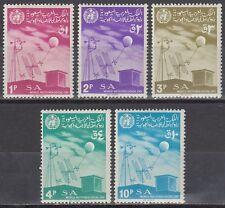 Saudi Arabia 1967 ** Mi.389/93 Meteorologie Meteorology