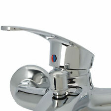 New Durable Wall Mounted Bathroom Tub Copper Faucet Single Handle Sink Mixer Tap