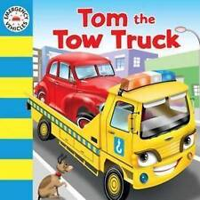 TOM THE TOW TRUCK Children's Board Book Story Picture Kids Emergency Vehicles
