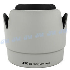 JJC Petal Camera Lens Hood for Canon EF 70-200mm f/2.8L IS USM as ET-86 White