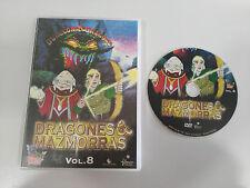 DRAGONES Y MAZMORRAS VOL 8 DVD CASTELLANO ENGLISH 3 CAPITULOS DUNGEONS & DRAGONS