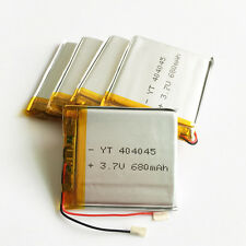 5 pcs 3.7V 680mAh 404045 Lipo Polymer Battery for MP3 MID GPS PAD mobile phone