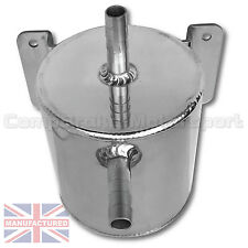 Oil Catch Tank 0.5 Litre Round Bulk Head Mounted  Rally,Race,Drift,4x4 CMB1573-2