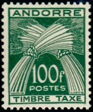 "ANDORRE FRANCAIS STAMP TIMBRE TAXE N°41 "" TIMBRE-TAXE 100F "" NEUF x TB"
