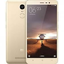 "Xiaomi India Warranty Redmi Note 3 Duos Dual 32GB 3GB 5.5"" 16MP 5MP Gold Color"
