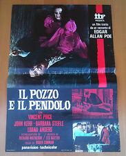 IL POZZO E IL PENDOLO poster fotobusta The Pit and the Pendulum Vincent Price