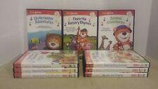 Baby Genius - 9 Pk (DVD and CD, 2006, 18-Total Disc Set)