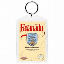 Nintendo Nes FAXANADU  Game Box Cover Keychain New #1
