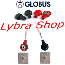 Globus 4 ADAPTADORES PARA Electrodos PRESILLA x Electroestimulador con CABLES