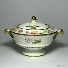 Swansea Porcelain Sauce Tureen & Cover c1820