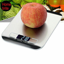 11lb x 0.05oz LCD Electronic Digital Kitchen Scale 5Kg x 1g Weight Food Diet