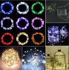 40 LEDs Battery Operated Mini LED Copper Wire String Fairy Lights 2M/3M/4M