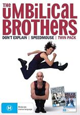 The Umbilical Brothers - Twin Pack (DVD, 2009) BRAND NEW BOXSET!!