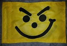 Custom SMIRKY NOSE Face Safety Flag for  ATV DirtBike JEEP Dune Pole Whip