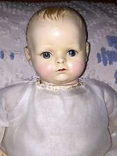 "Rare Antique Madame Hendren LifeLyk 16"" Composition  Doll, AO, Near 100 Yrs Old"