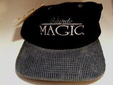 Orlando Magic Ball Cap Blue Black NBA Basketball Cotton 1 Size Fits All NEW