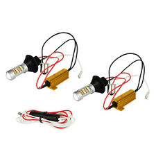 7440 42 SMD 2835 LED Light Car Dual Color Switchback Turn Signal Lamp DRL New